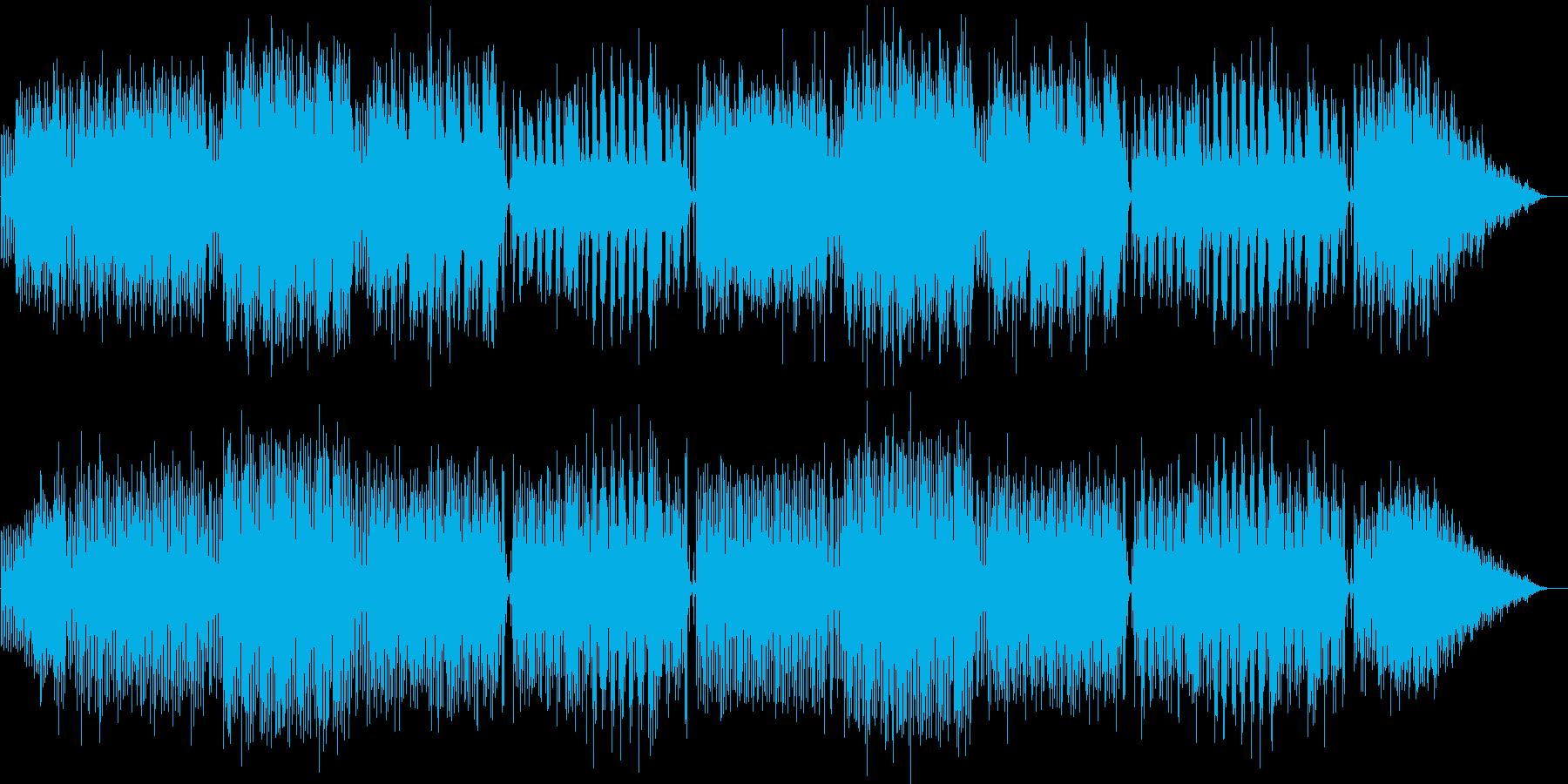 優しい曲です。の再生済みの波形