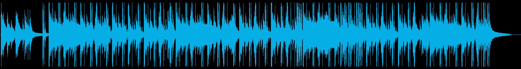 幻想的なローファイ・チルの再生済みの波形