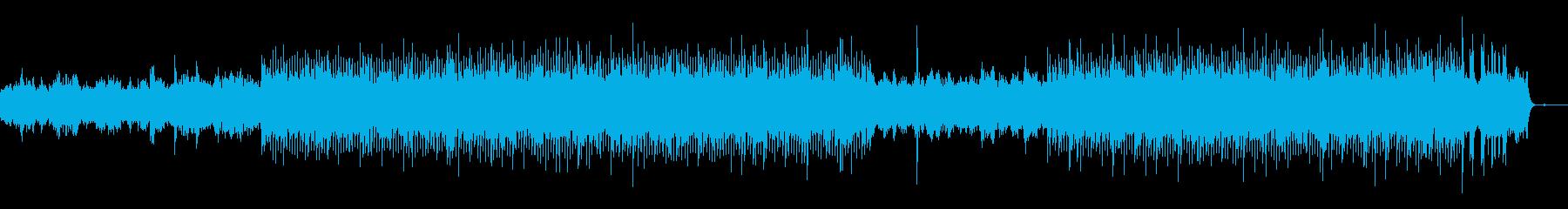 中国の深林-仙人の山の再生済みの波形