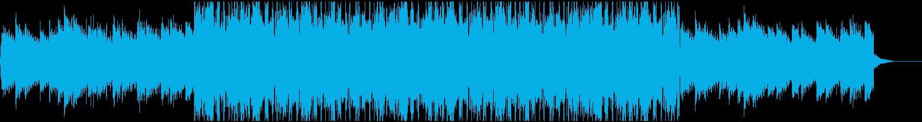 メロウでチルなR&Bの再生済みの波形