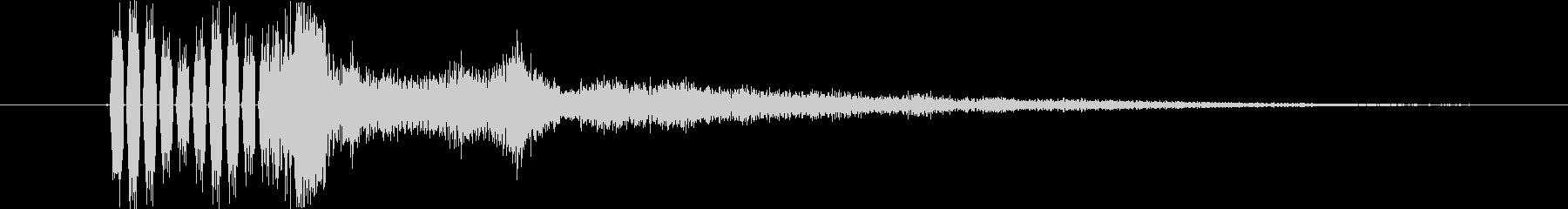 ドライショートバージョン3の未再生の波形