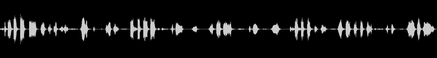 鳴き声:子供の笑い声の未再生の波形