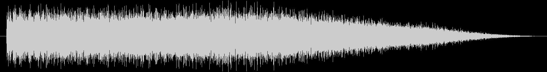 【生録音】ロードバイクのラチェット音の未再生の波形
