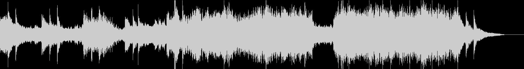 企業VPや映像に感動的ヴァイオリンBGMの未再生の波形