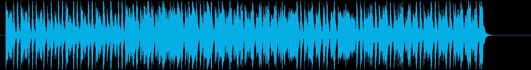 「猫ふんじゃった」ピアノとピッコロで!の再生済みの波形