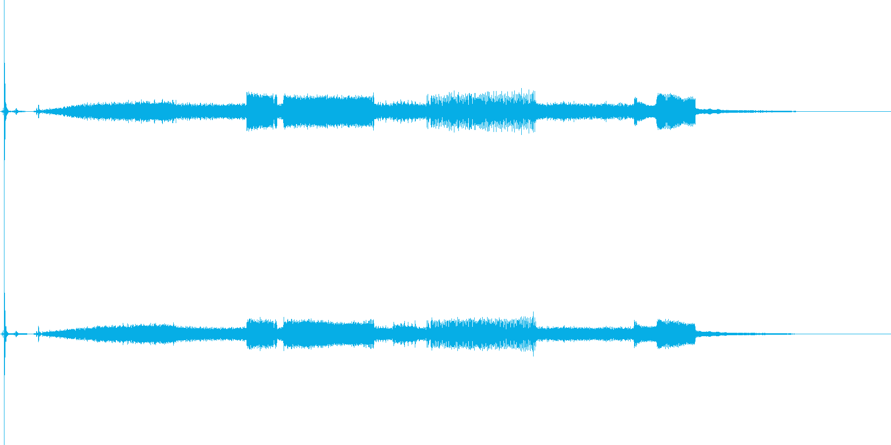 コンピューター; Pcの起動と高音...の再生済みの波形