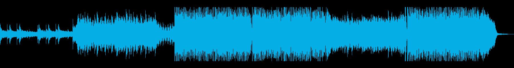 タイムリミットが迫る、緊迫の劇伴風BGMの再生済みの波形