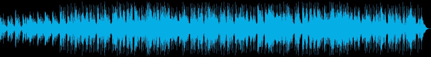 波をイメージさせるピアノバラードの再生済みの波形