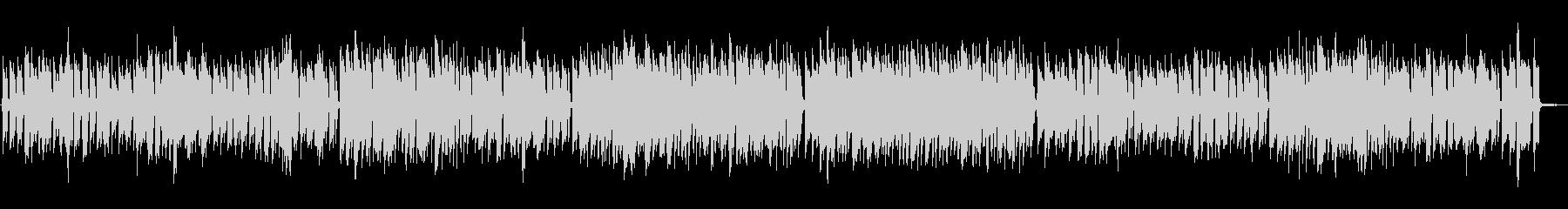 ピアノ・トリオNo.5/伴奏のみの未再生の波形