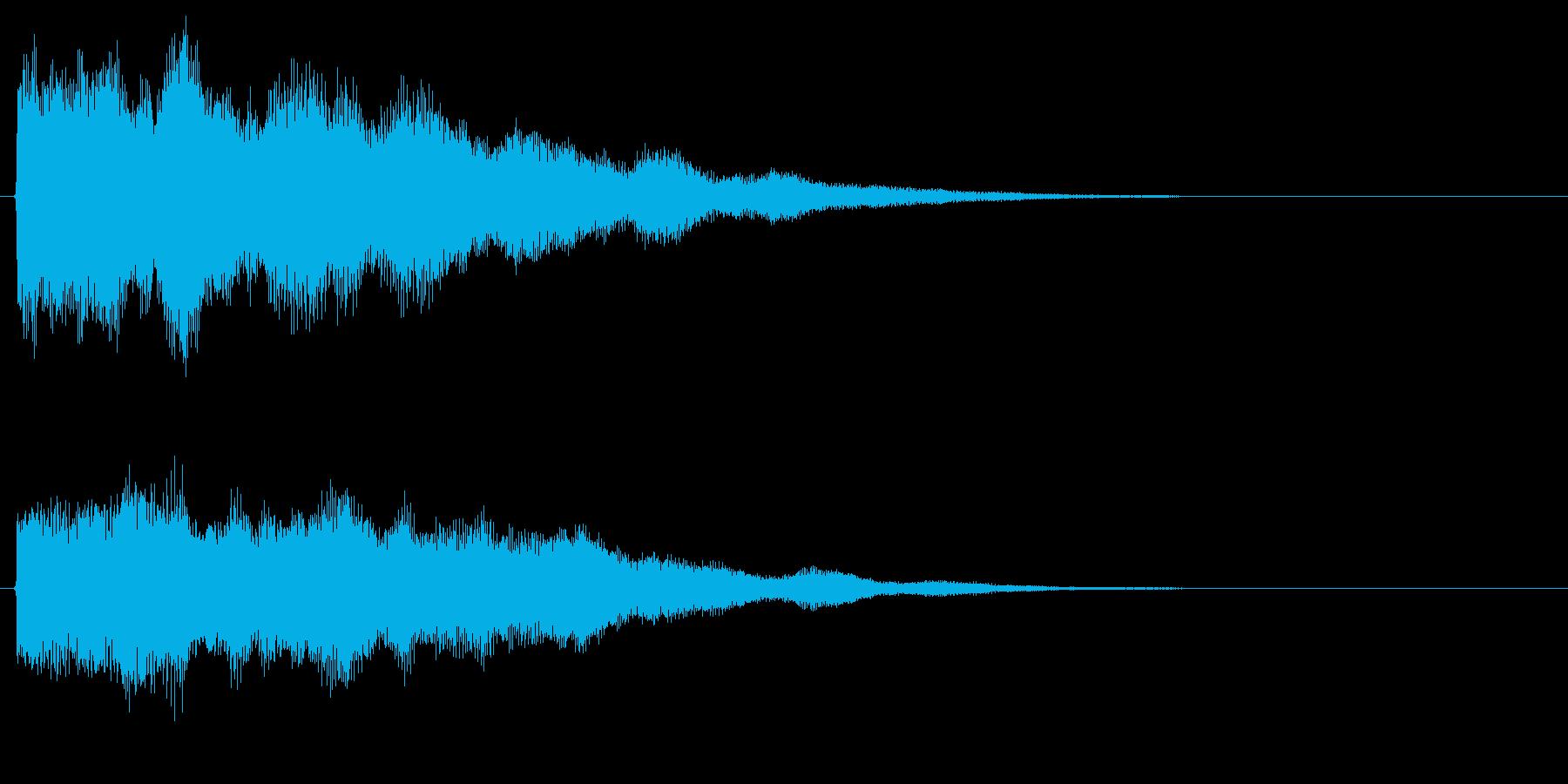 パーン ファーン ふぁー パー キラキラの再生済みの波形