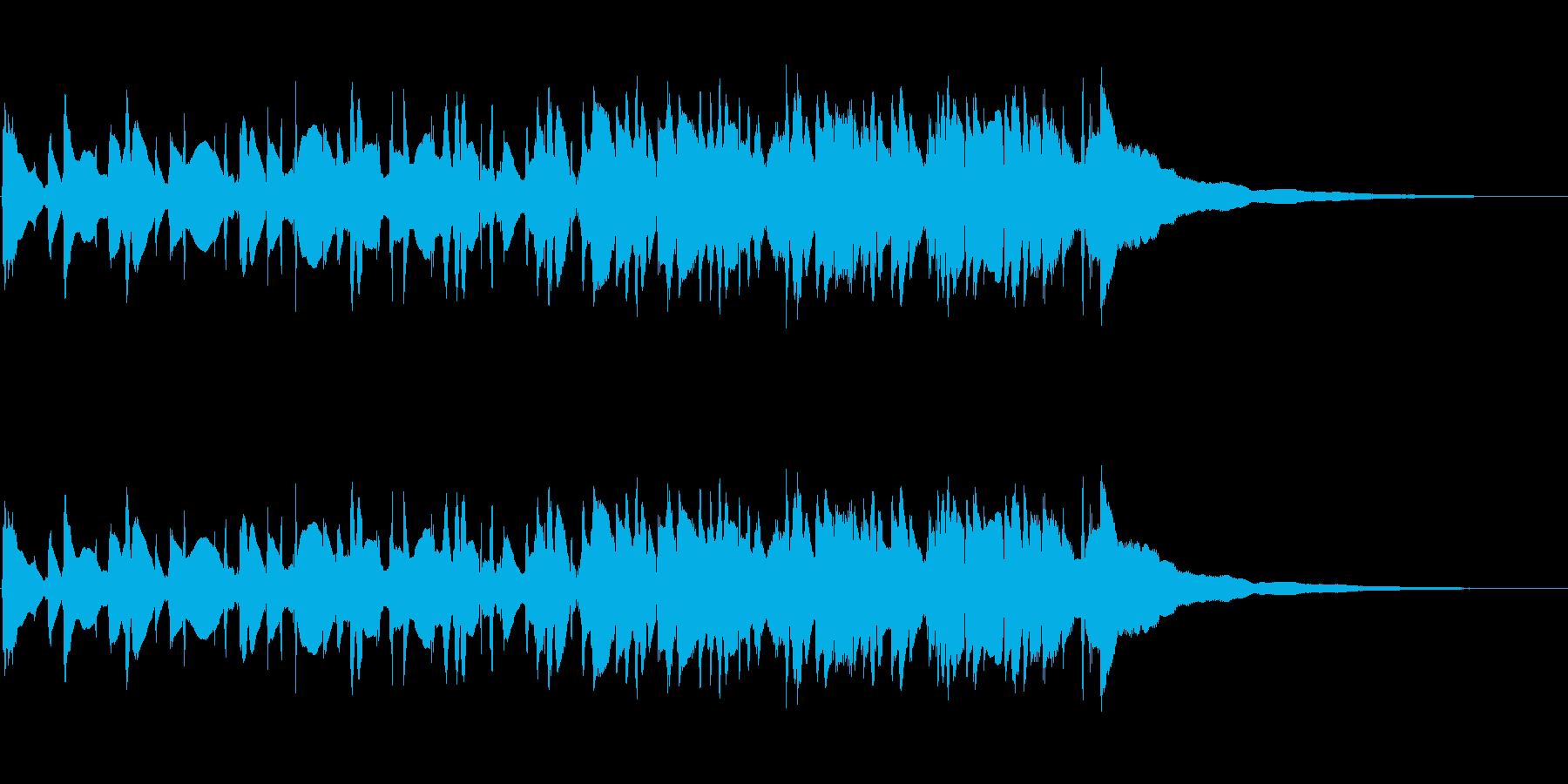 マンドリン:リズムストラミングアク...の再生済みの波形