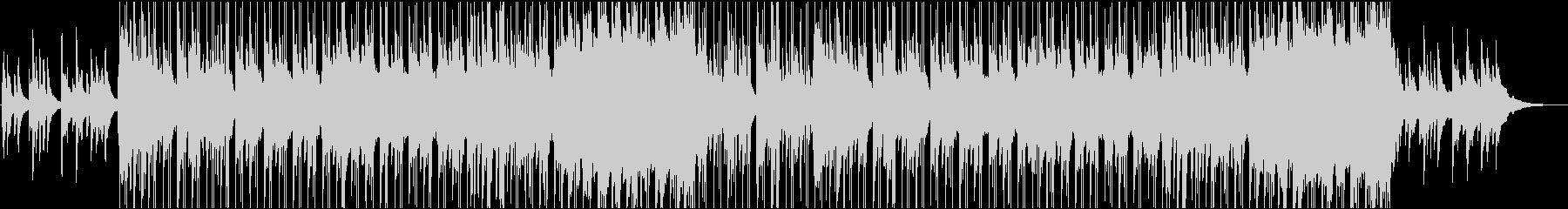 ピアノが中心のしんみりとしたBGMの未再生の波形