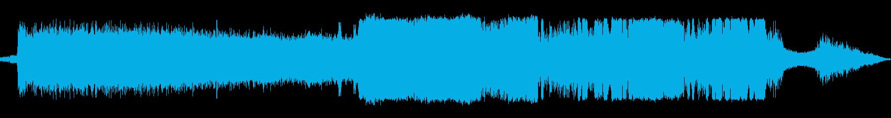 マシンベルトサンダーエアー各種速度の再生済みの波形
