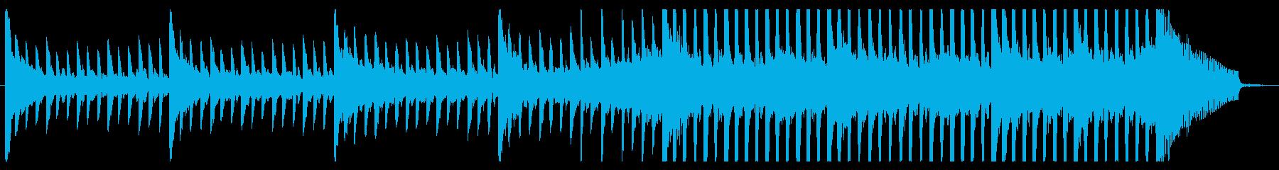 近未来的クリーンなコーポレート・30秒の再生済みの波形