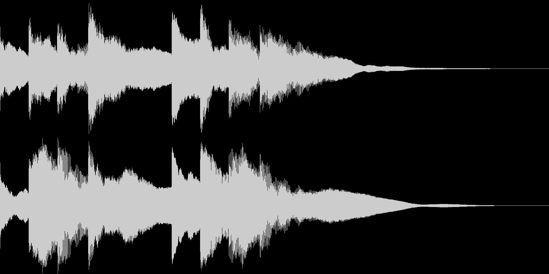 ピンポンパンポーン(アナウンス)の未再生の波形