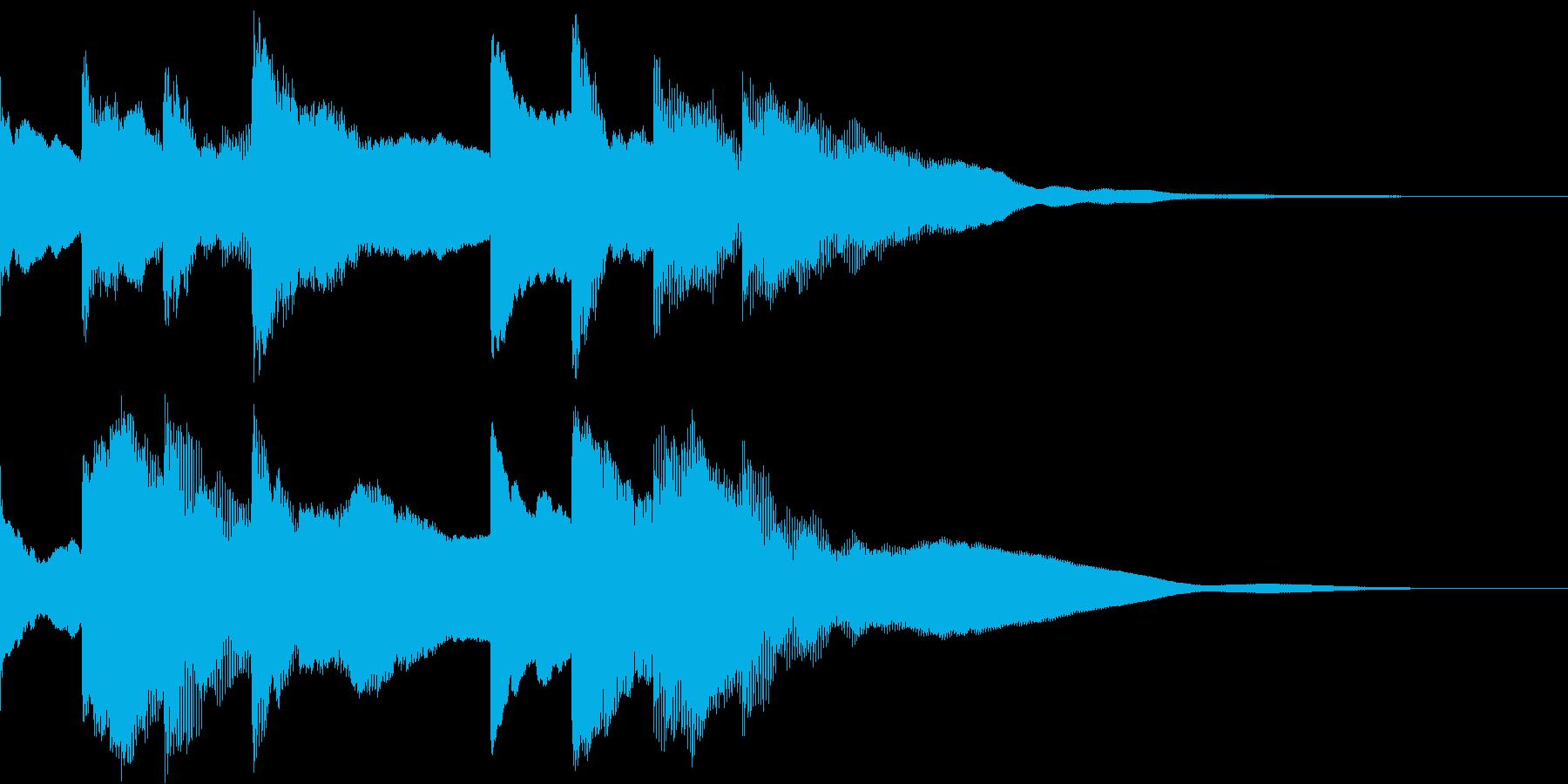ピンポンパンポーン(アナウンス)の再生済みの波形