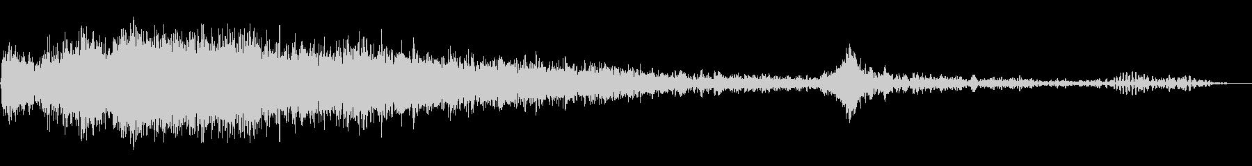 スパッタリングフレアの未再生の波形