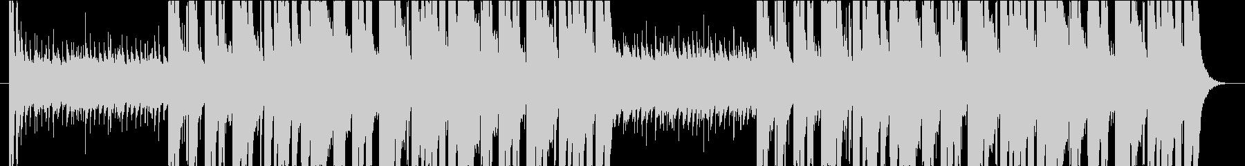 攻撃的なシンセベース・エレクトロロックの未再生の波形