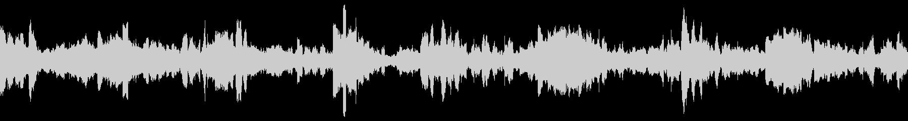 衛星伝送-電子バズによるデジタルル...の未再生の波形
