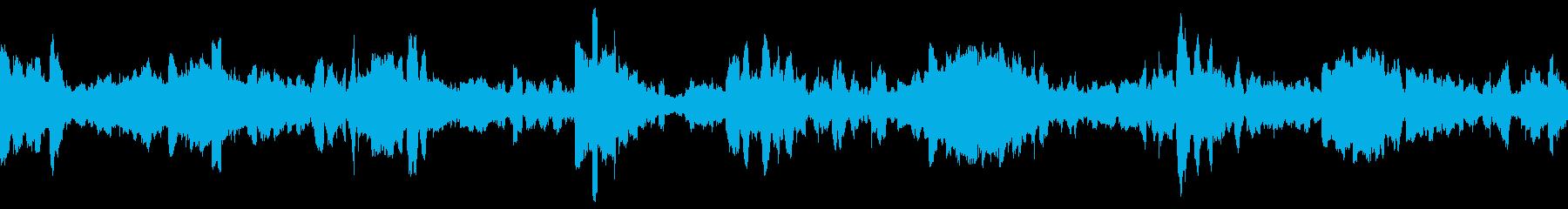 衛星伝送-電子バズによるデジタルル...の再生済みの波形