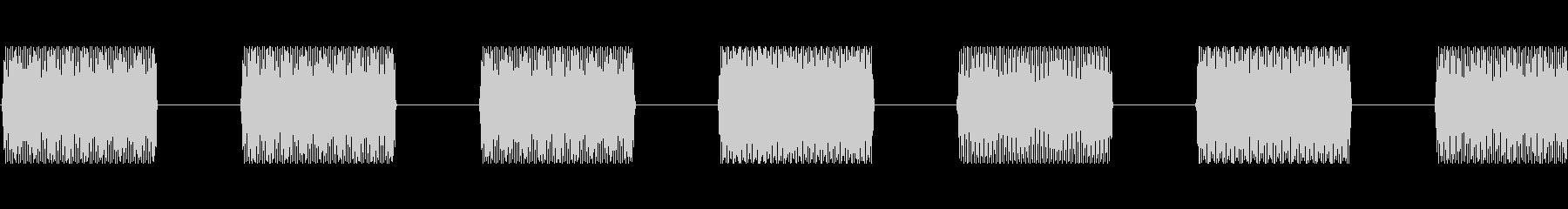 この番号3を呼び出すの未再生の波形