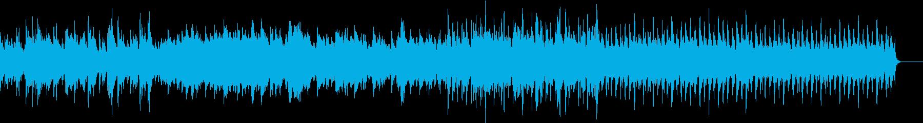 軽快でおしゃれなBGM♪ピアノとサックスの再生済みの波形