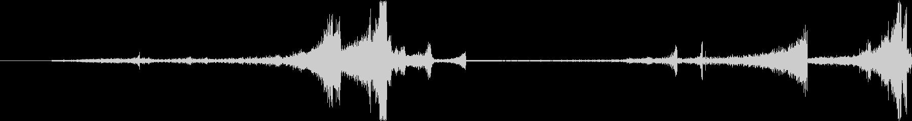 Zap 巻き戻し音・ザップ効果音 1の未再生の波形