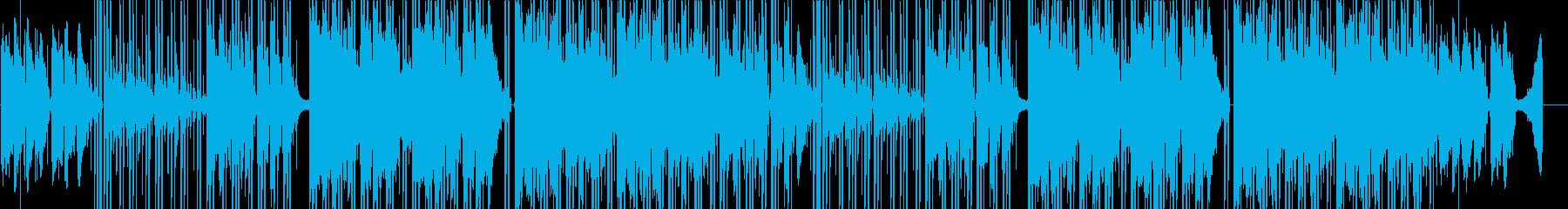 オシャレで切ないLO-FIインストの再生済みの波形