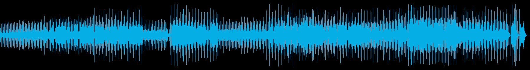 子供っぽく可愛い雰囲気の曲の再生済みの波形