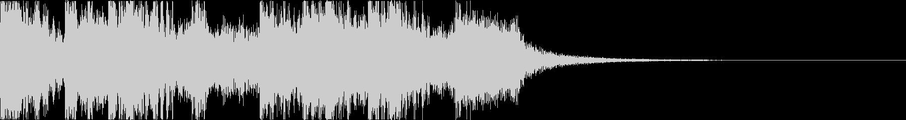 三味線・箏・尺八・和太鼓・ジングル09の未再生の波形