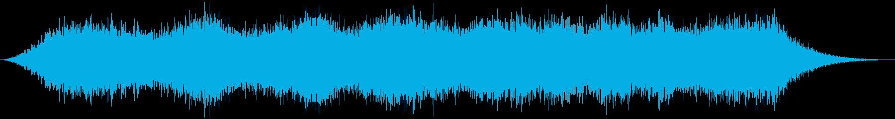 PADS 幽霊のような風01の再生済みの波形