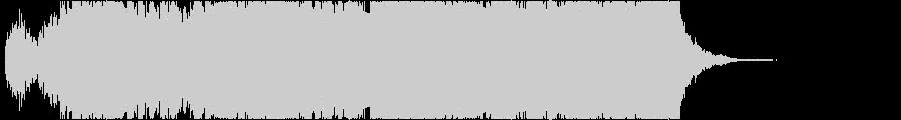 イベントオープニングジングル3の未再生の波形