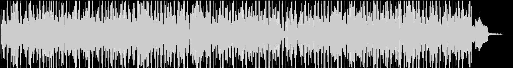 映像BGM 王道的サウンドのボサノバの未再生の波形