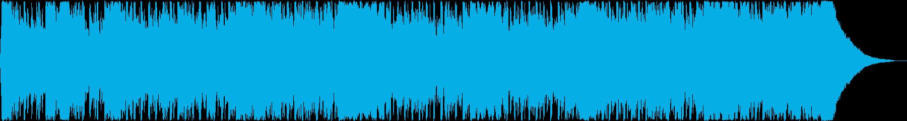 企業VPキャッチーで元気なポップ60秒の再生済みの波形