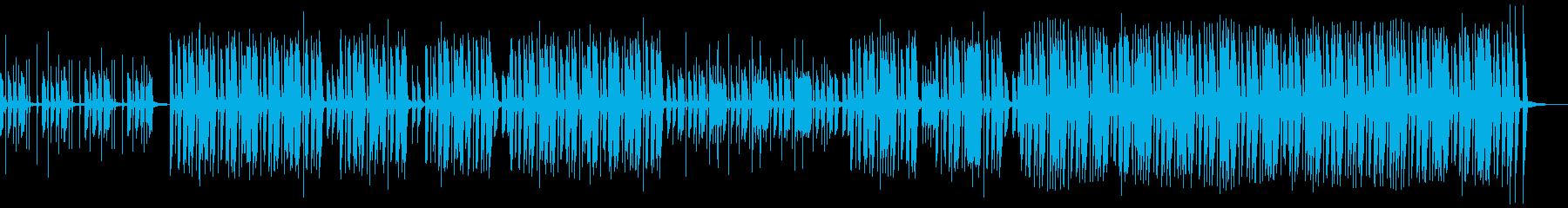 カントリー風の楽しいCM曲 ピアノと手拍の再生済みの波形