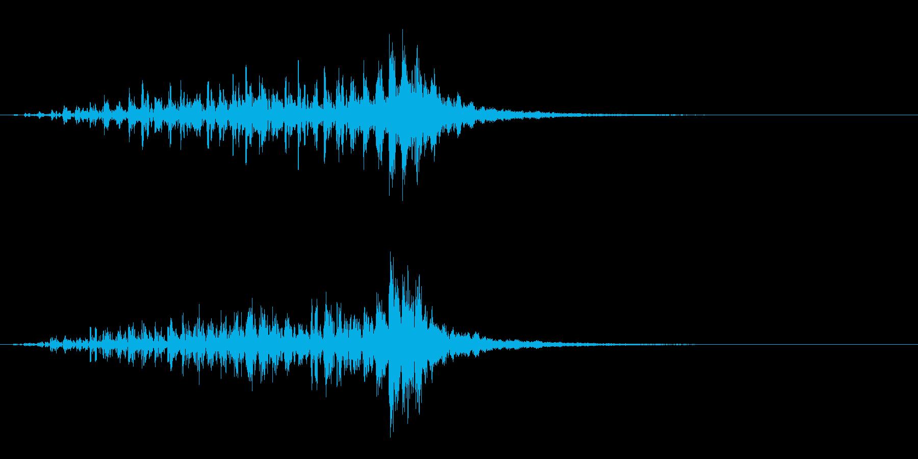 ディープヘビーエアリーエンティティ...の再生済みの波形