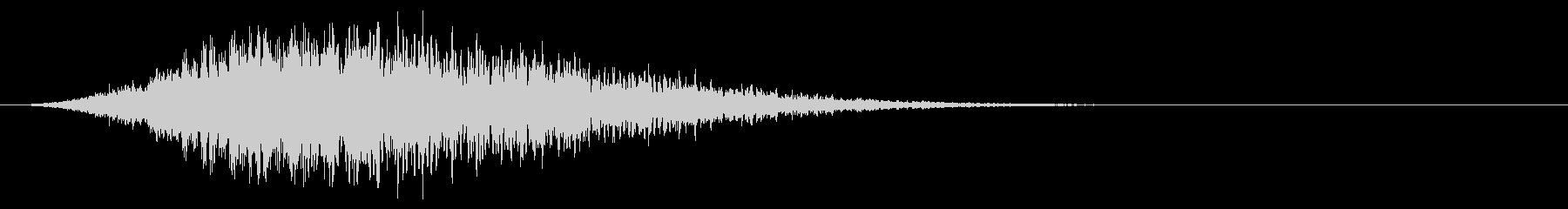 Shimmerによるフィードバック...の未再生の波形