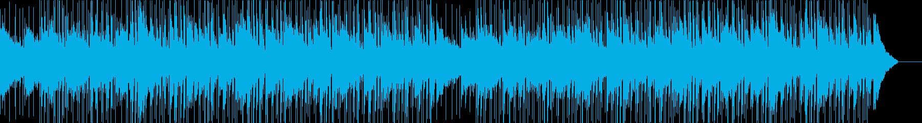 【メロディ無し】シンプルでクリーンな印象の再生済みの波形