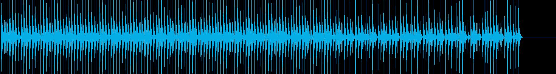 三線を使った淡々としてほのぼのしたBGMの再生済みの波形