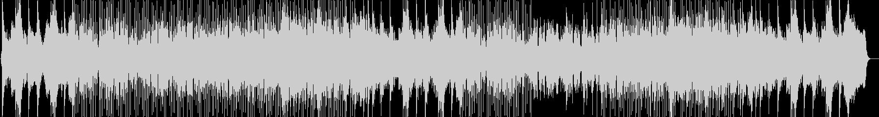 爽やかなシンセ・ピアノなどのサウンドの未再生の波形