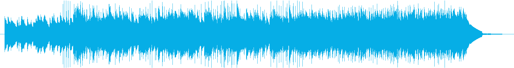 元気でさわやかなBGMの再生済みの波形