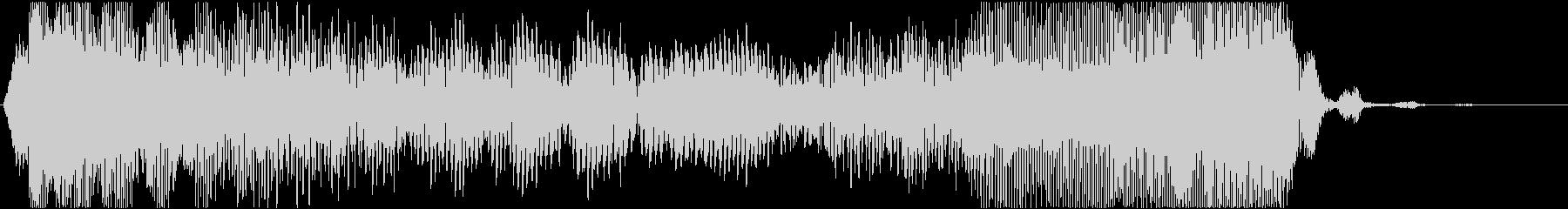 効果音。チューウイ音(ゲーム音)の未再生の波形