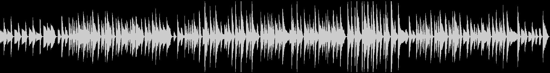 ゆったり軽やかピアノソロラグタイムの未再生の波形