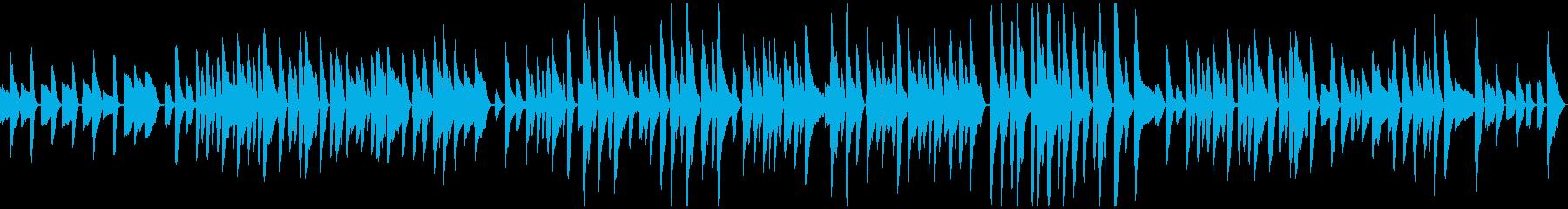 ゆったり軽やかピアノソロラグタイムの再生済みの波形