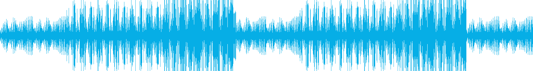 考える人の再生済みの波形
