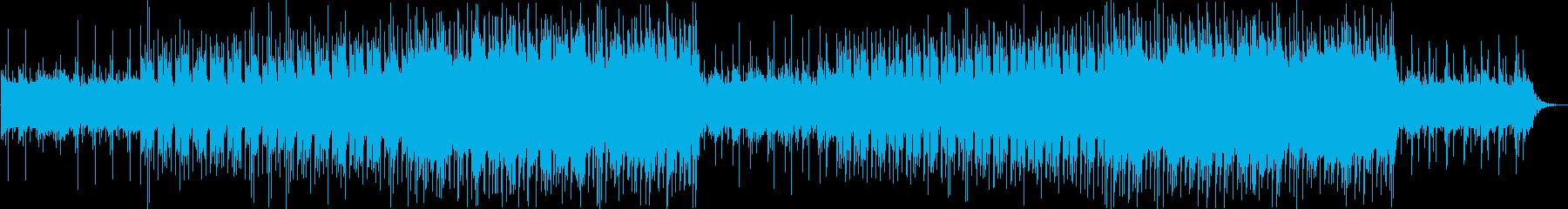 爽やかでポップなアコギとピアノのBGMの再生済みの波形