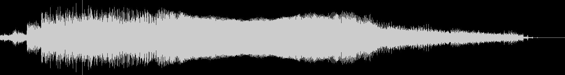 詳細なフィードバックエンジンサンプ...の未再生の波形