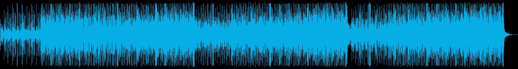澄み切った透明度が印象的なポップチューンの再生済みの波形