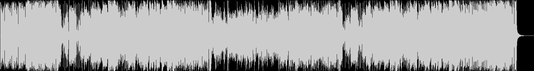 不穏感のある変拍子ジャズ・フュージョンの未再生の波形