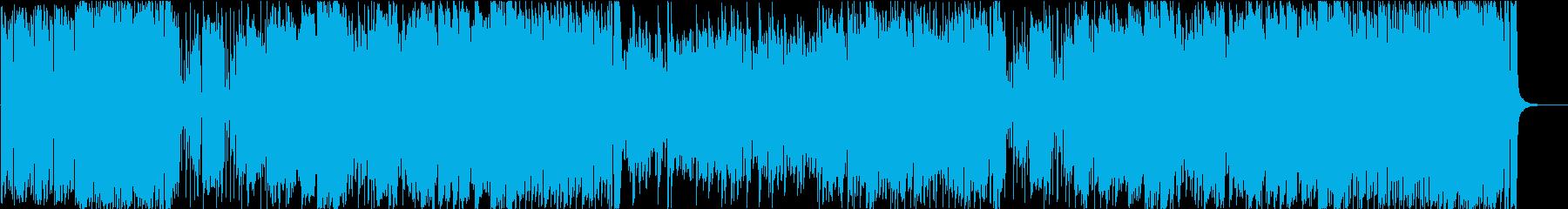 不穏感のある変拍子ジャズ・フュージョンの再生済みの波形